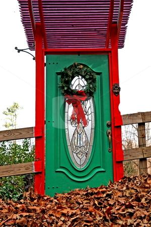 Door To Noware stock photo, Mystery door to noware by Jack Schiffer