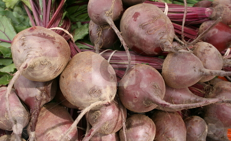 Fresh-picked Beets stock photo, At a farmers' market, freshly harvested beets by Tom and Beth Pulsipher