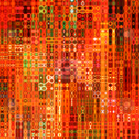 Vibrant orange neon glow effect abstract blur pattern background. stock photo, Vibrant orange neon glow effect abstract blur pattern background. by Stephen Rees
