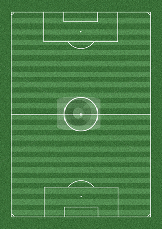 Pitch stock photo, Soccer pitch illustration by Stephen Rees