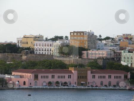 San Juan in Puerto Rico in the Caribbean stock photo,  by Ritu Jethani