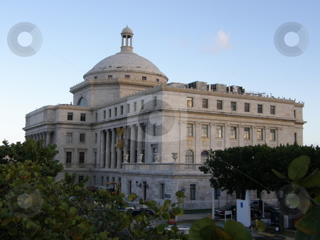 Puerto Rico Capitol in San Juan stock photo,  by Ritu Jethani