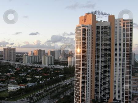 Miami Skyline in Florida stock photo,  by Ritu Jethani