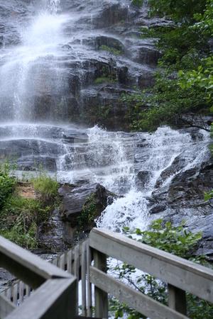 Waterfall at Amicalola Falls, Georgia