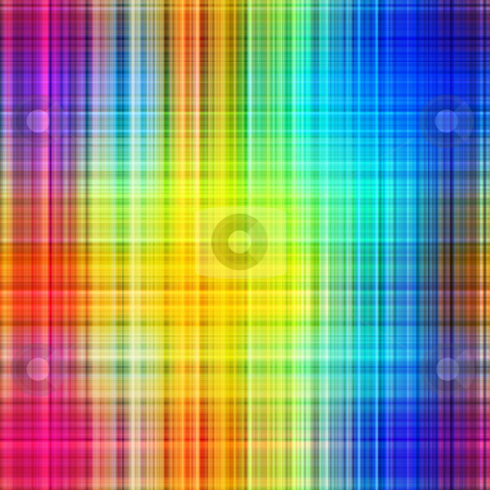 Rainbow colors grid pattern lines abstract background. stock photo, Rainbow colors grid pattern lines abstract background. by Stephen Rees