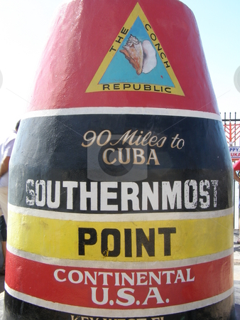 Southernmost Point in Continental USA - Key West, Florida stock photo,  by Ritu Jethani