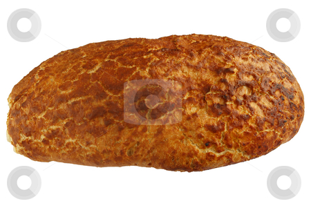 Tiger bread closeup stock photo, Tiger bread.  Also know as dragonette bread, made with sesame oil with a rice paste surface. by Stephen Rees