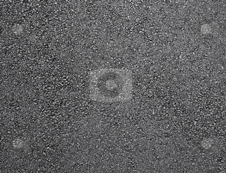 Black shiny new asphalt abstract texture background. stock photo, Black shiny new asphalt abstract texture background. by Stephen Rees