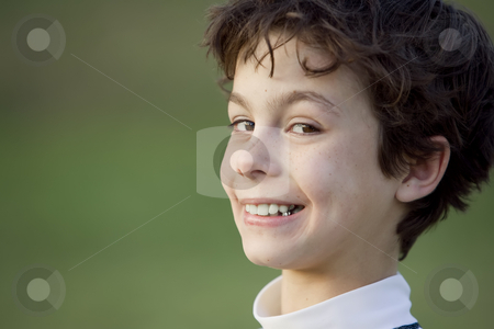 Smiling Boy stock photo, Handsome teenager with a broad smile on his face by Scott Griessel