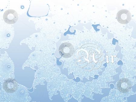 Air Light Blue Four Elements 2d Fractal Background Pattern Desig