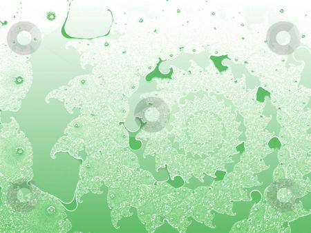 Light Green Smooth 2d Shallow Fractal Design