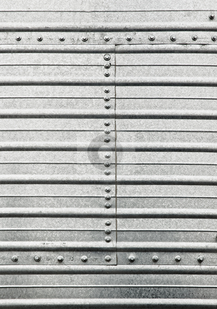 Steel plate background stock photo, Steel plate background wiht screw nuts. by Pablo Caridad