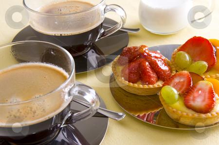 С чай или кафе в ръка спри се да си побъбрим сега 5 - Page 27 Cutcaster-photo-100052025-Fresh-coffee-and-cake