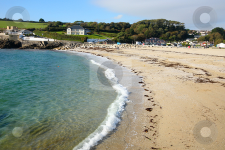 Swanpool Beach, Falmouth Cornwall UK. stock photo, Swanpool Beach, Falmouth Cornwall UK. by Stephen Rees