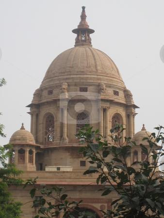 Rashtrapati Bhavan in New Delhi, India stock photo, Rashtrapati Bhavan or Presidential Palace in New Delhi, India by Ritu Jethani