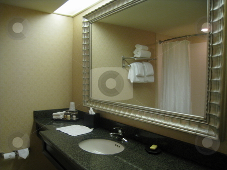 Bathroom Sink And Mirror Stock Photo Modern By Ritu Jethani