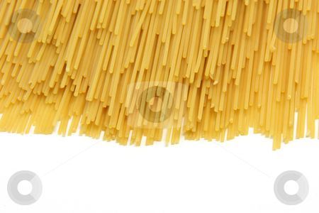 Classic sphaghetti stock photo, Classic spaghetti isolated on white background with copy space food concepts by EVANGELOS THOMAIDIS