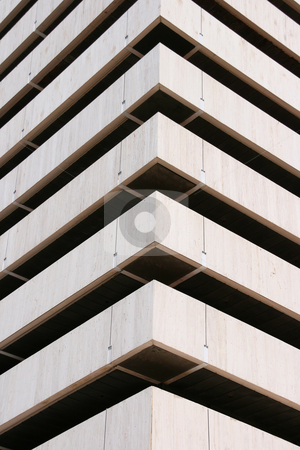 Architechture corner vertical stock photo, Architecture corner vertical detail from a modern building for background use by EVANGELOS THOMAIDIS