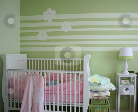 Baby nursery stock photo,  by Greg Peterson