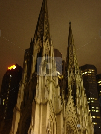 St. Patrick's Cathedral in New York City stock photo,  by Ritu Jethani