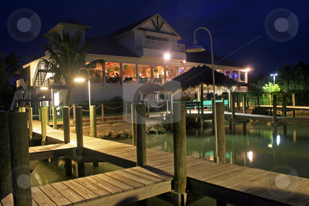 Restaurant with Docks