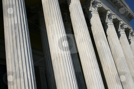 Pillars texture stock photo, Pillar texture from zapeion building landmarks of athens greece by EVANGELOS THOMAIDIS