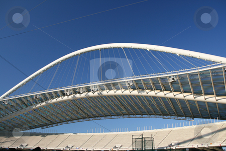 Athens olypmic stadium stock photo, Olympic stadium of athens greece architecture and sports by EVANGELOS THOMAIDIS