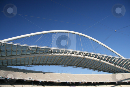 Athens stadium stock photo, Olympic stadium of athens greece architecture and sports by EVANGELOS THOMAIDIS