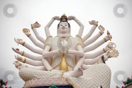 Goddess druga stock photo, Statue of goddess druga in samui island thailand by EVANGELOS THOMAIDIS