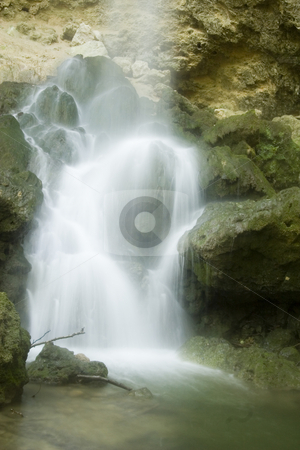 The beautiful waterfall in forest, long exposure