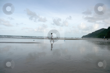 Going fishing stock photo, Boy is going for fishing at koh chang island thailand by EVANGELOS THOMAIDIS