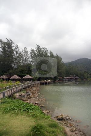 Blue lagoon vertical stock photo, Blue lagoon koh chang island thailand by EVANGELOS THOMAIDIS