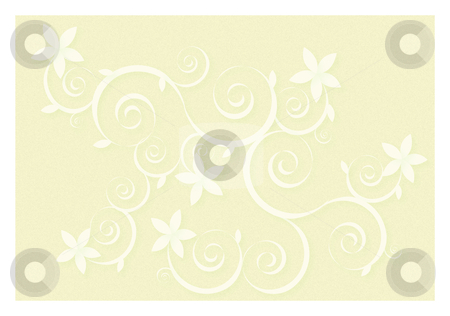 Floral vector background stock vector clipart, Floral Vector Background by John Teeter