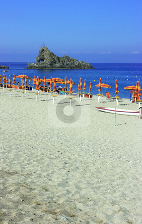 Palmi rock stock photo, Rock in the sea in Palmi, Calabria by Natalia Macheda