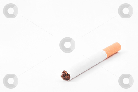Cigarette stock photo, Cigarettes; one of the leading causes of death. by Robert Byron