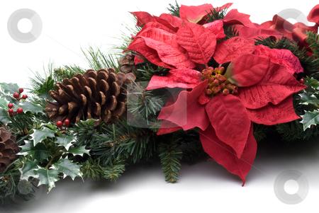 Christmas decorations stock photo, Festive holiday Christmas decorations by Vince Clements