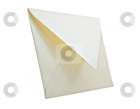 Envelope isolated on white background, studio shot. stock photo, Envelope isolated on white background, studio shot. by Pablo Caridad
