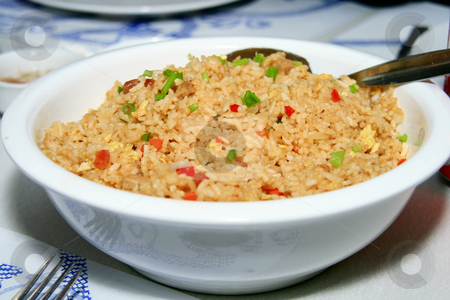 Fried rice stock photo, Yummy fried rice served in a bowl by Jonas Marcos San Luis