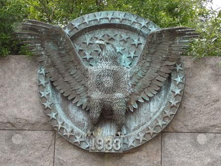 Roosevelt Memorial in Washington DC stock photo,  by Ritu Jethani