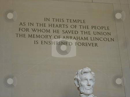 Lincoln Memorial in Washington DC stock photo,  by Ritu Jethani