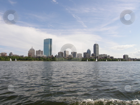 Boston Skyline (USA) stock photo,  by Ritu Jethani