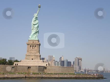 Statue of Liberty in New York City stock photo,  by Ritu Jethani
