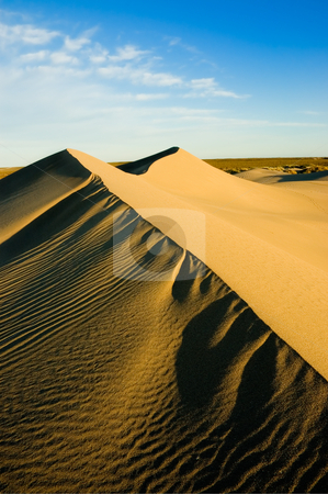 Sand dunes  stock photo, Sand dunes in Peninsula Valdes, Patagonia, southern Argentina. by Pablo Caridad