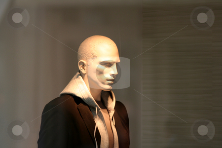 Plastic mannequin stock photo,  by Gautier Willaume