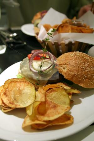 Elegant hamburger
