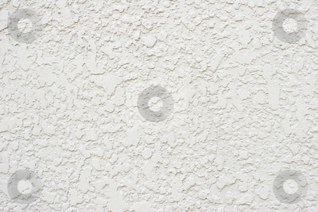 White Stucco Textured Wall stock photo, Textured background by Mark S