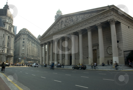 Metropolitan Cathedral of Buenos Aires stock photo, The Metropolitan Cathedral of Buenos Aires (Catedral Metropolitana de Buenos Aires), situated in the city center of the Argentina capital. by Lee Torrens