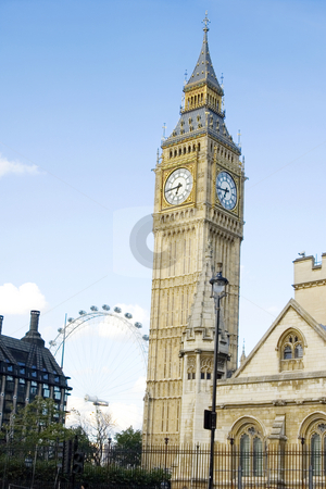 Big Ben (London) stock photo, Westminster Palace, this is Clock Tower also known as Big Ben by Lee Torrens