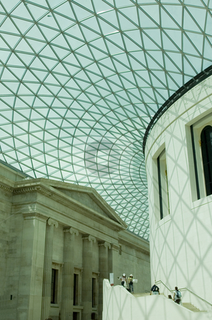 The British Museum, London, UK stock photo, Great Court at the British Museum (England). by Lee Torrens