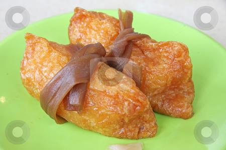 Sushi soy wrap stock photo, Sushi arrangement of rice in soy wrap by Kheng Guan Toh
